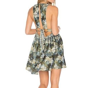 S Free People Daydreamin Mini Printed Dress